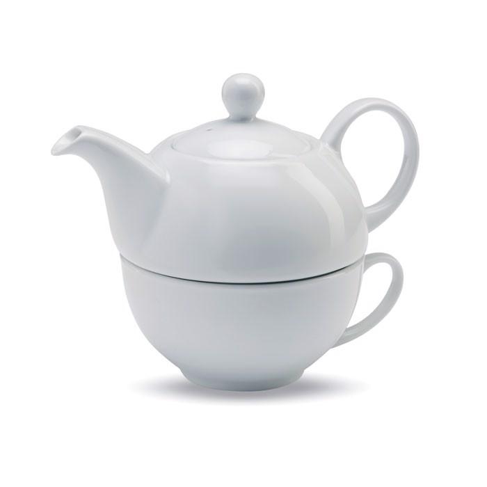 Komplet s čajnikom in skodelico Tea Time