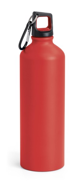 SPORTY. Sports bottle 800 ml - Red