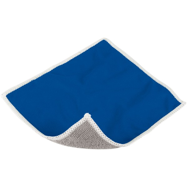 Wiped screen cleaning cloth - Blue