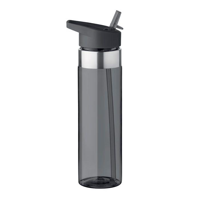 Butelka z tritanu 650ml Sicilia - przezroczysty szary