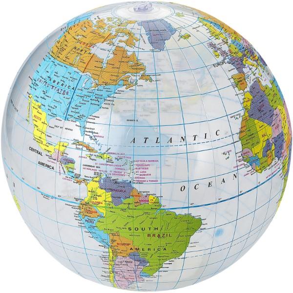 Ballon de plage transparent Globe