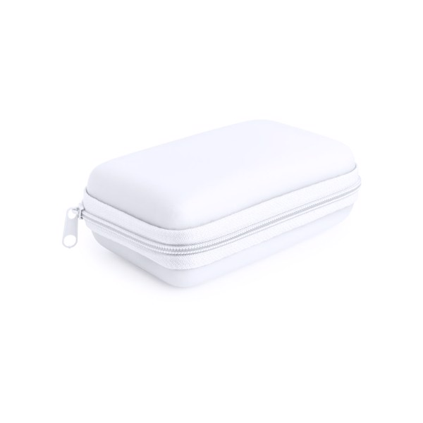 Set Power Bank Rebex - Blanco