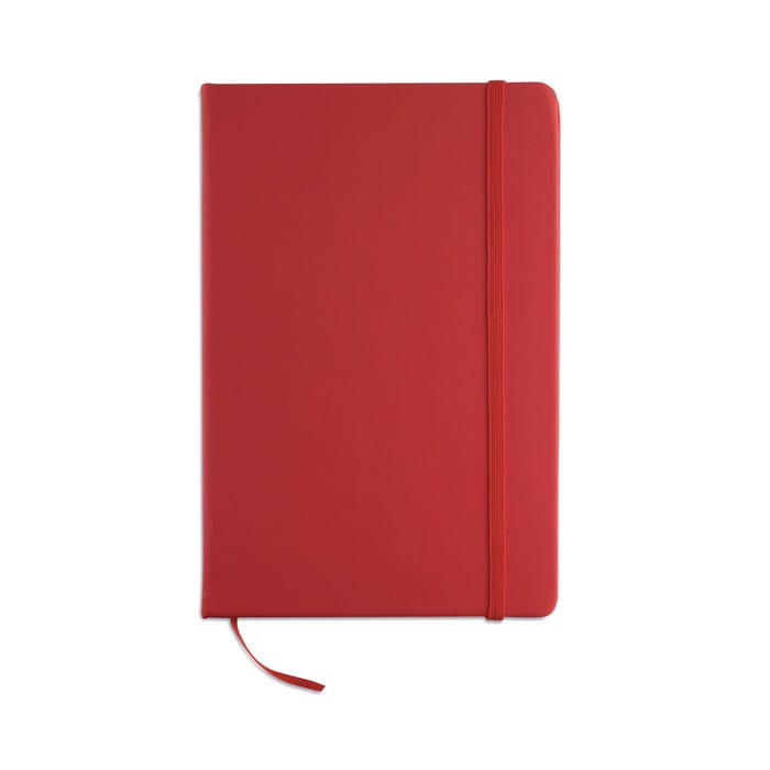 A5 notebook lined Arconot - Red