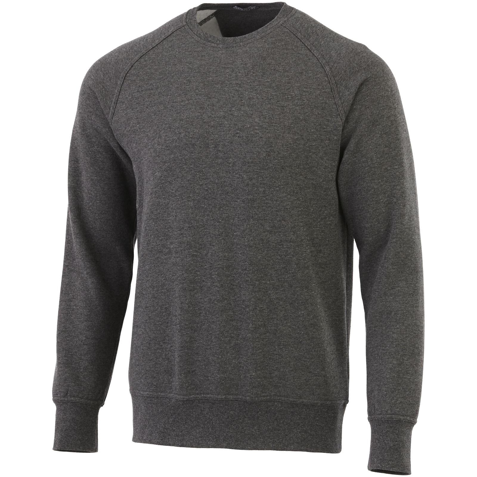 Kruger svetr s kulatým výstřihem - Charcoal / M