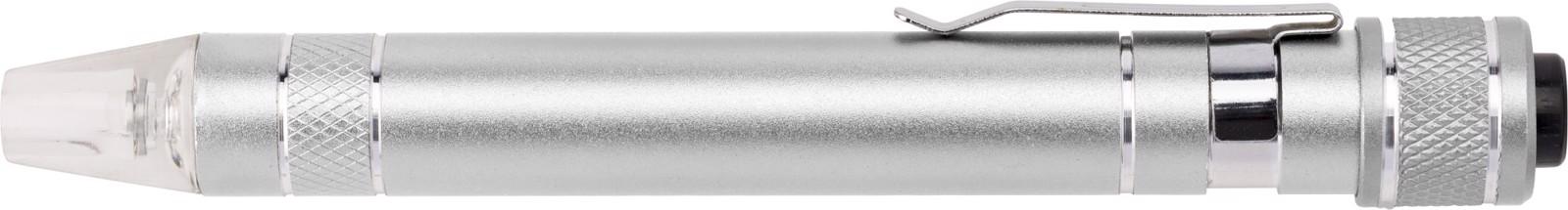 Aluminium pocket screwdriver - Silver