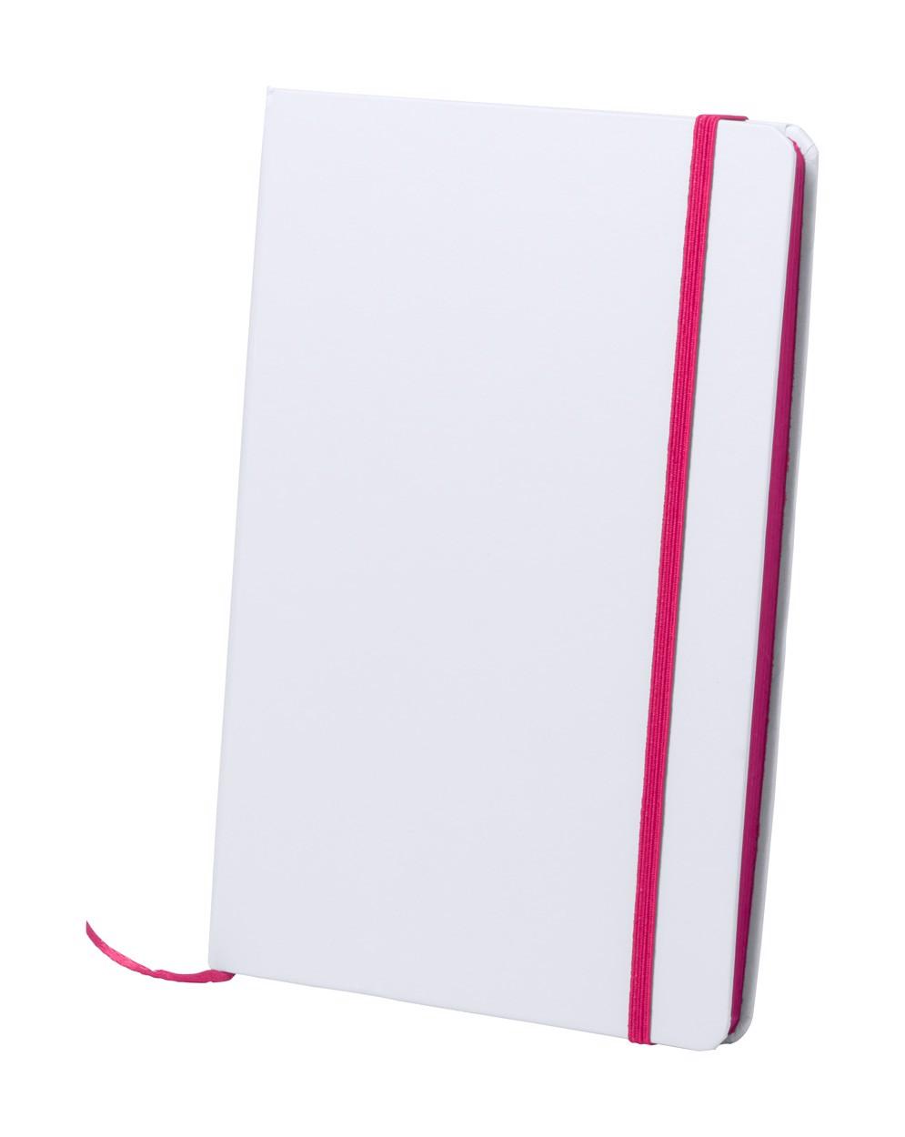 Blok Kaffol - Růžová / Bílá