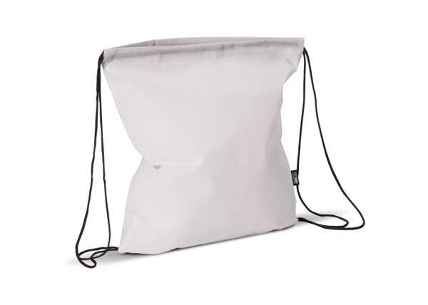 Drawstring bag non-woven 75g/m² - White