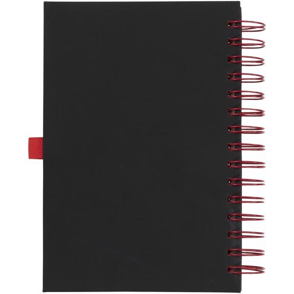 Deník Wiro - Černá / Červená s efektem námrazy