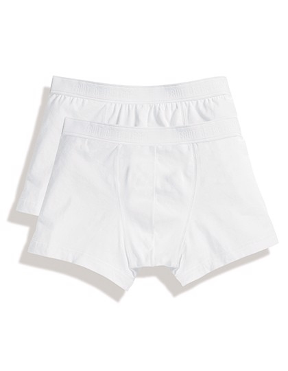 Classic Shorty (2 Pair Pack) - White / White / L