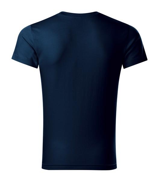 Tričko pánské Malfini Slim Fit V-neck - Námořní Modrá / 3XL
