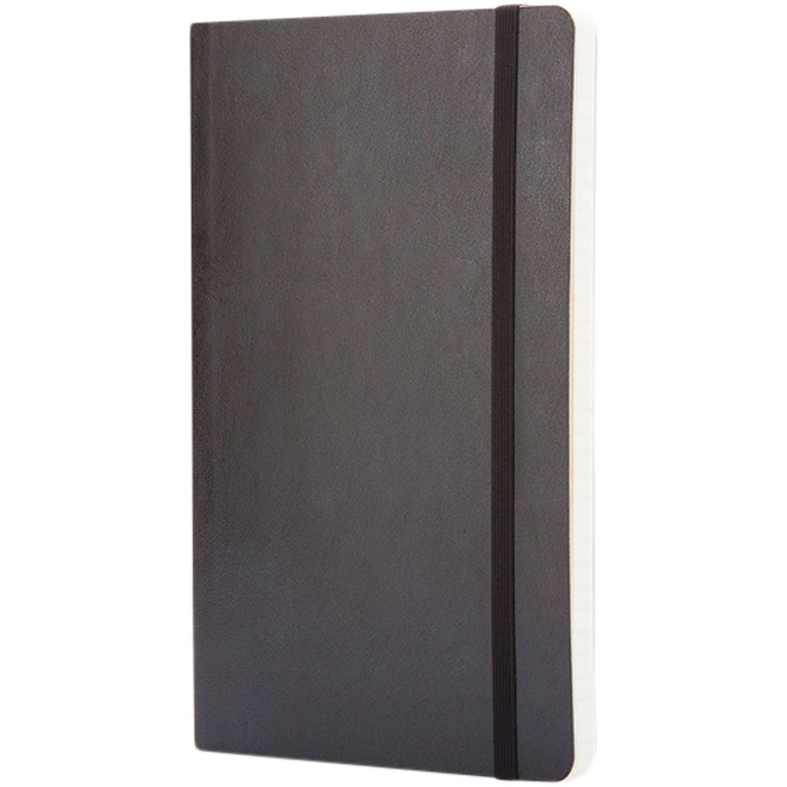 Classic L soft cover notebook - squared - Solid Black