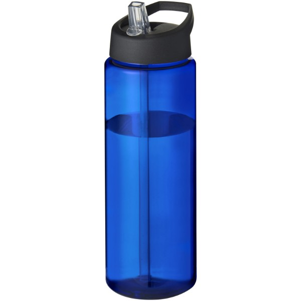 H2O Vibe 850 ml Sportflasche mit Ausgussdeckel - Blau