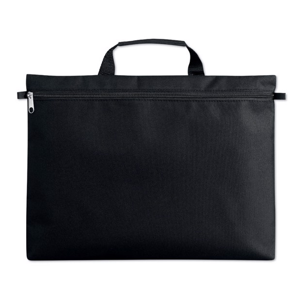 600D polyester document bag Amanta - Black