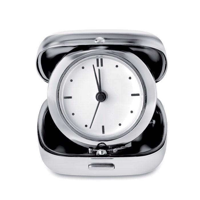 Metal travel alarm clock Glim