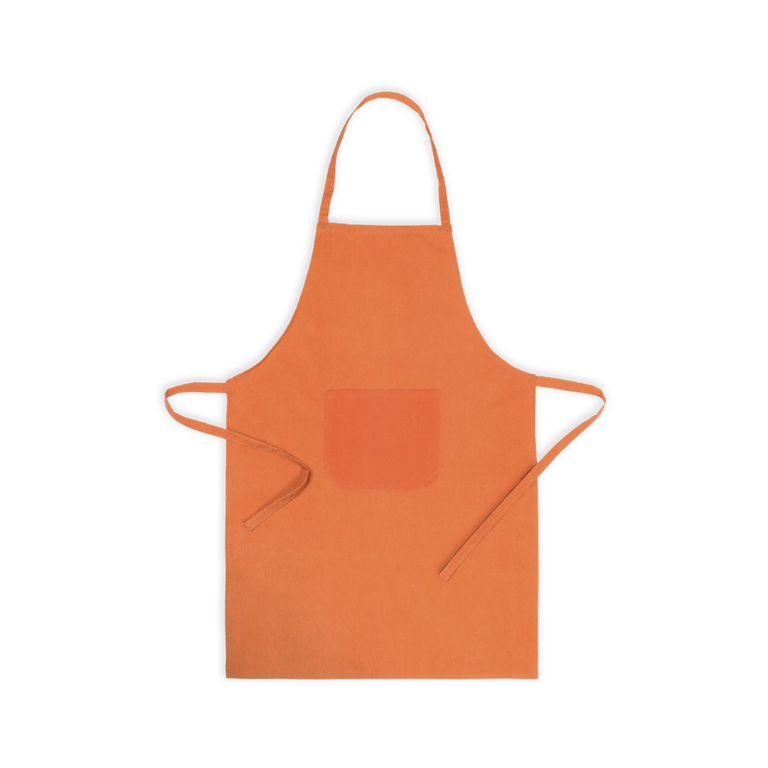 Delantal Xigor - Naranja
