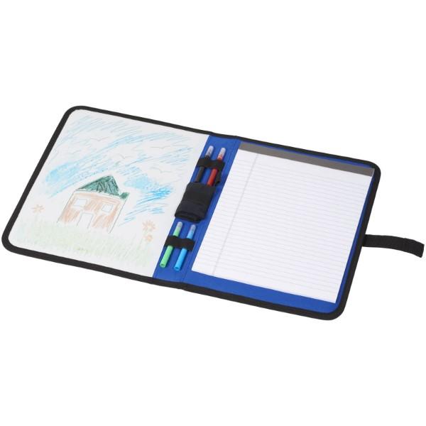 Veela A4 portfolio - Blue