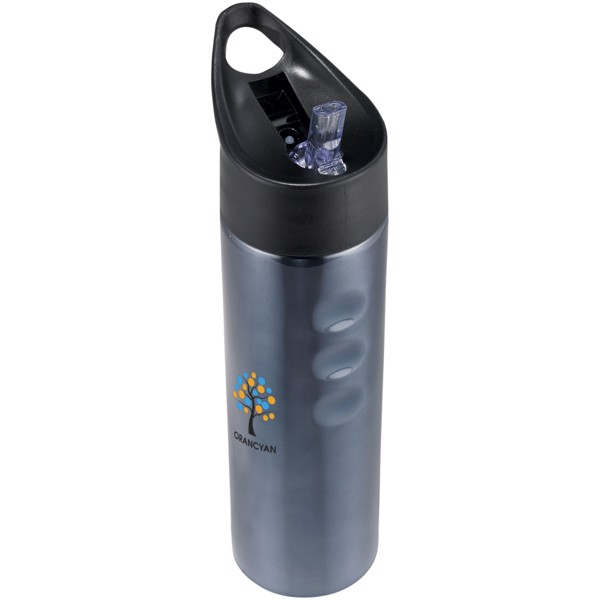 Trixie 750 ml Edelstahl Sportflasche - Titan