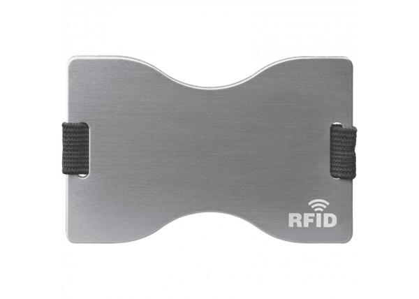 Porta tarjetas RFID - Plata