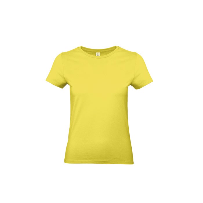 T-shirt female 185 g/m² #E190 /Women T-Shirt - Solar Yellow / S