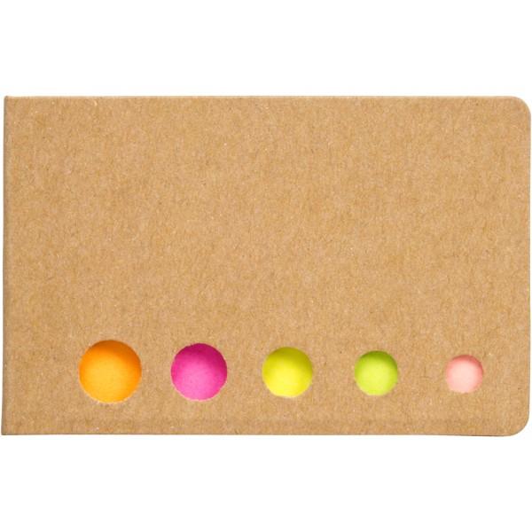 Fergason coloured sticky notes set - Natural