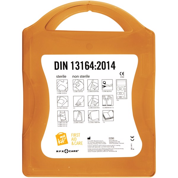 MyKit DIN first aid kit - Orange