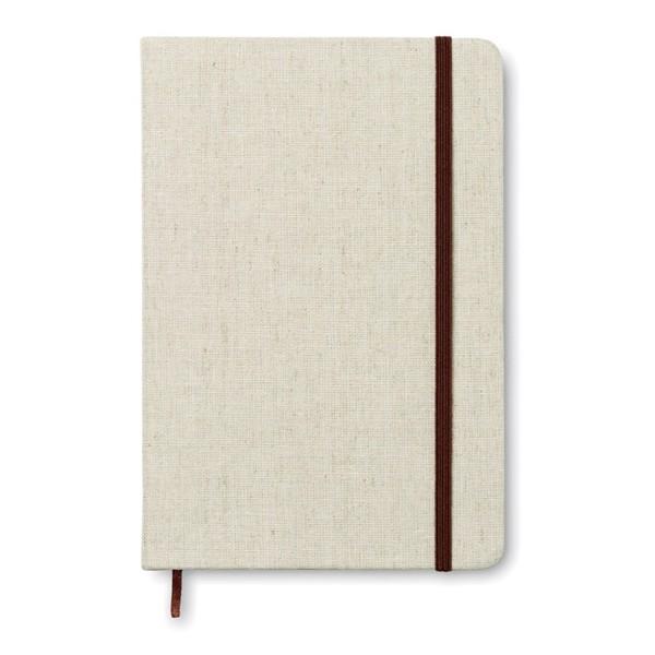 Notatnik A5 z okładka płócienn Canvas