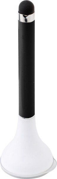 Ballpen with tip for all capacitive screens and a screen cleaner.