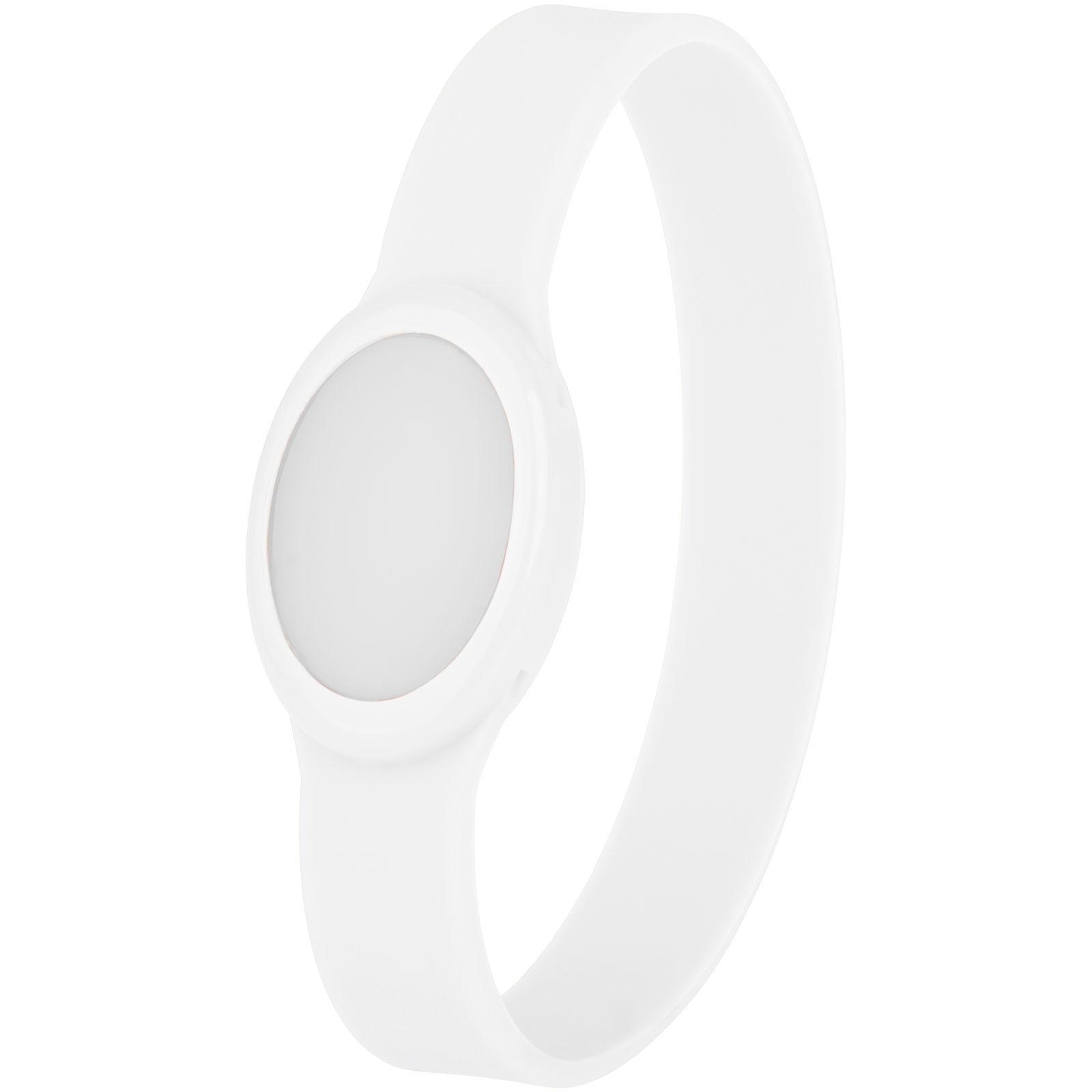 Tico multi-colour LED bracelet - White