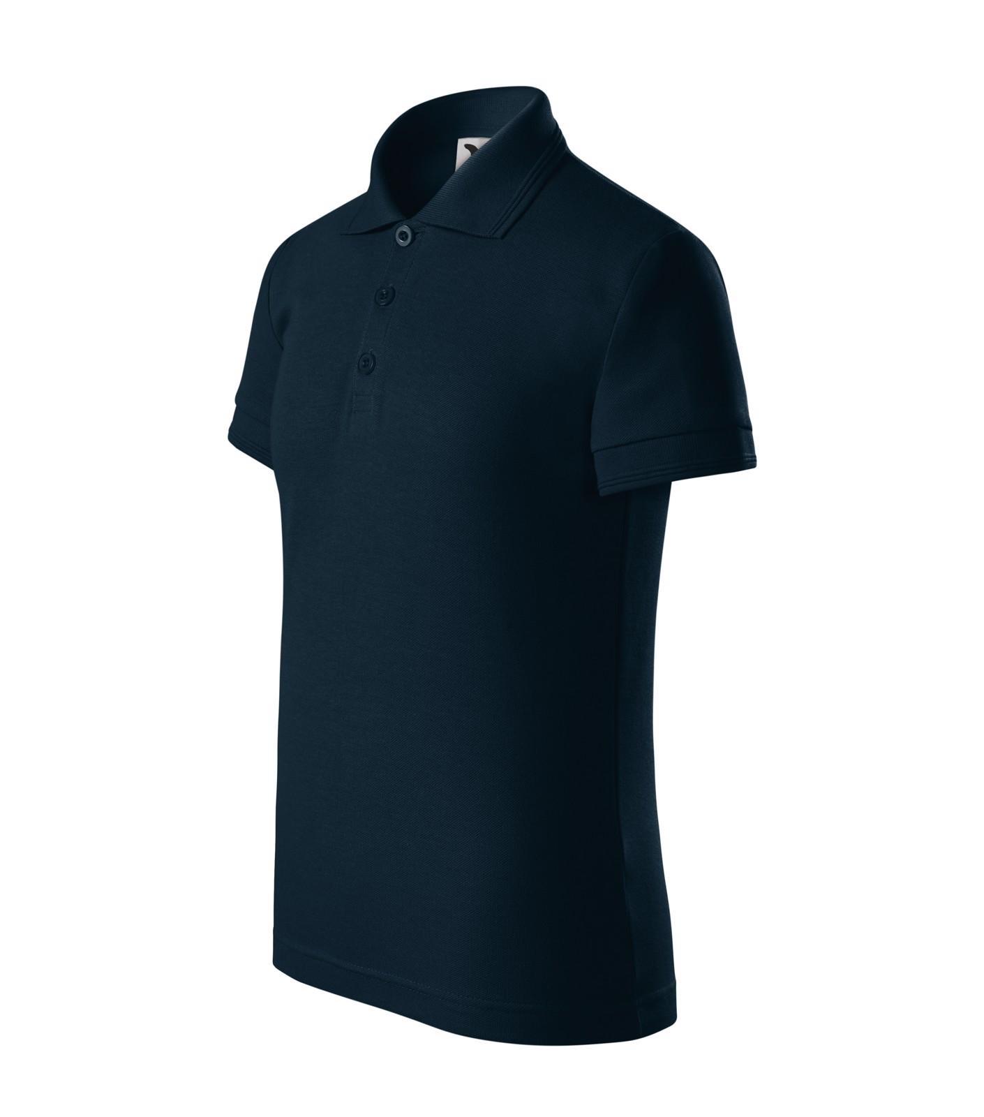 Polo Shirt Kids Malfini Pique Polo - Navy Blue / 4 years