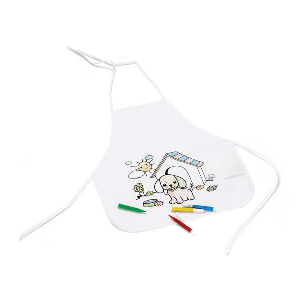 NILO. Children's colouring apron