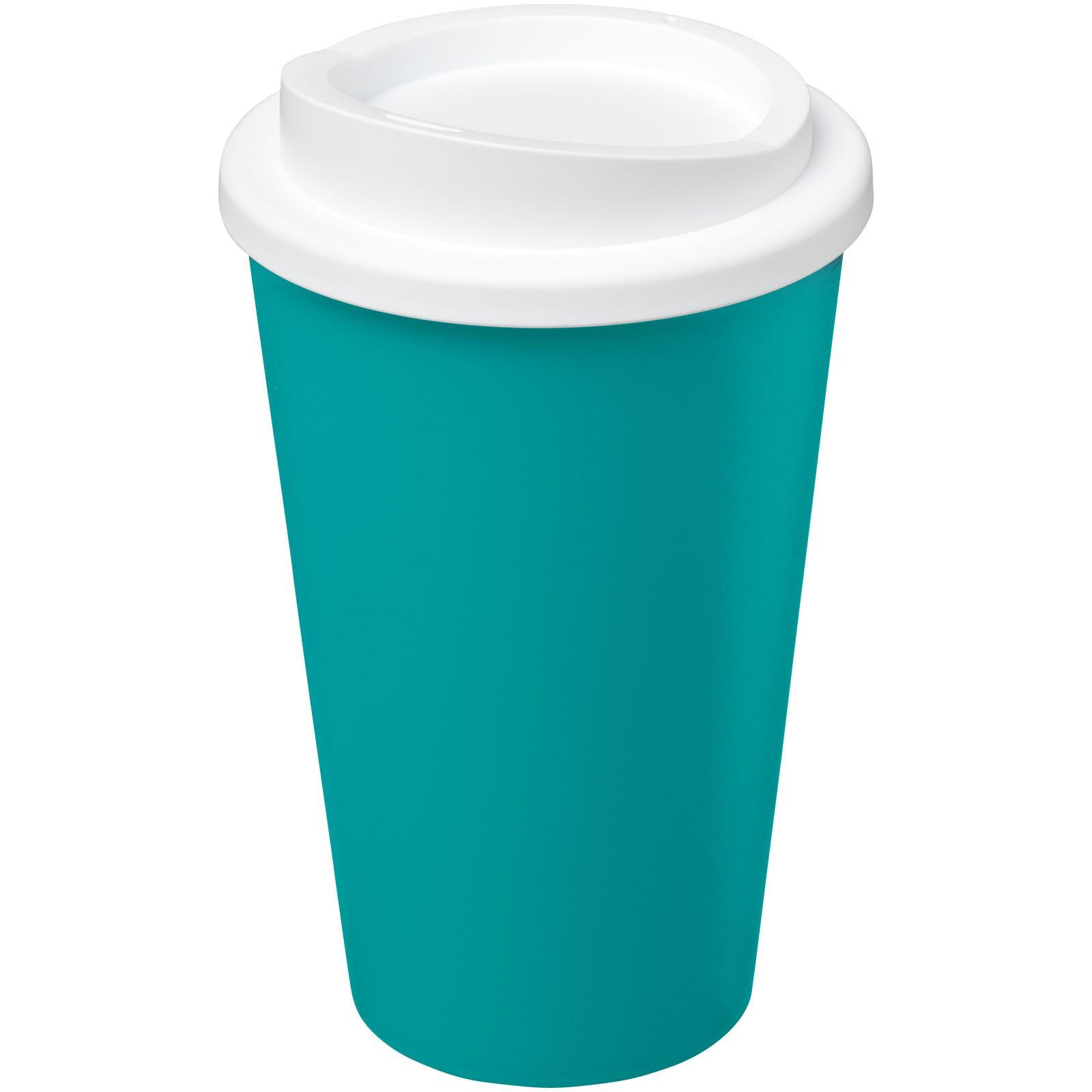 Termo hrnek Americano® 350 ml - Aqua blue / Bílá