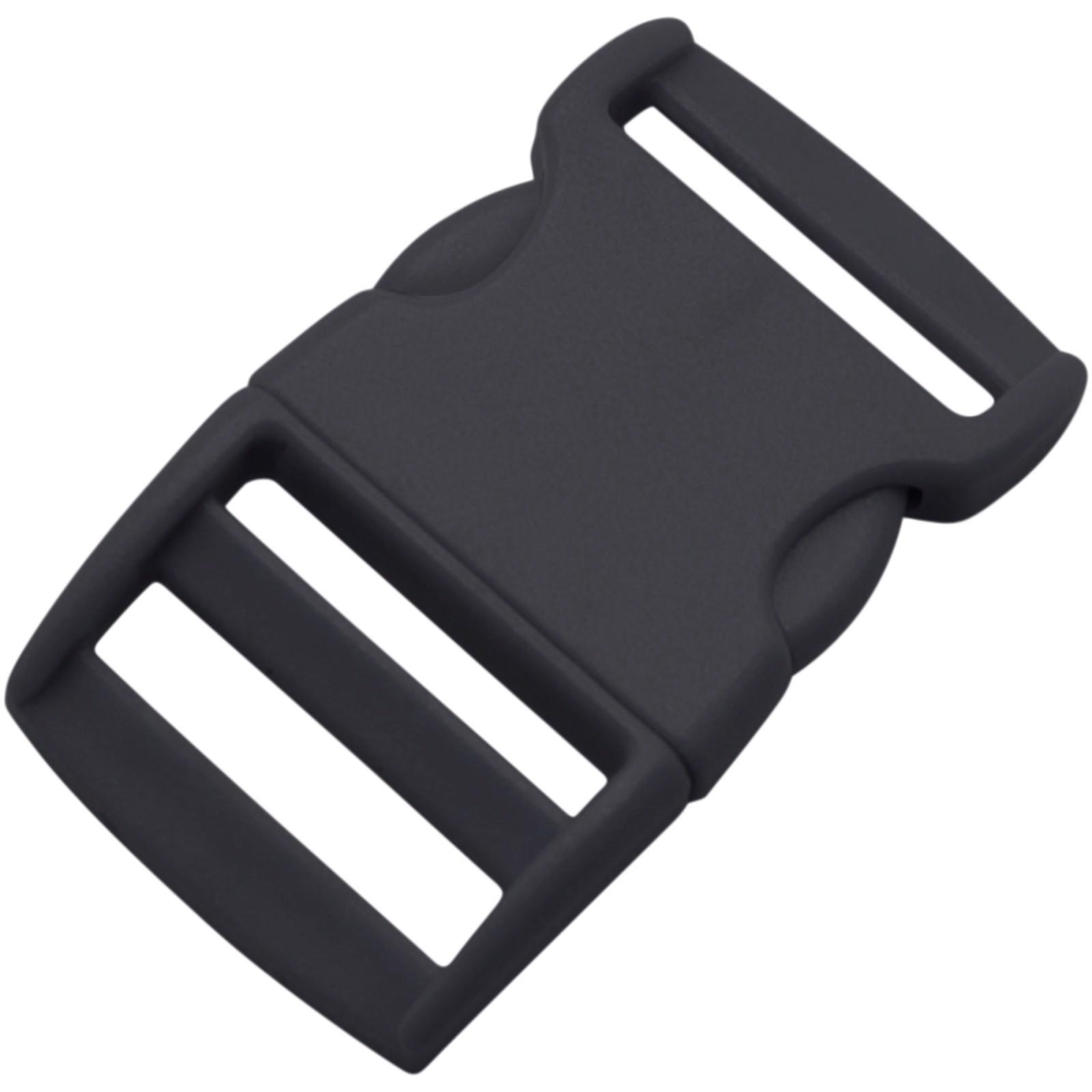 Plastic release buckle - Solid Black
