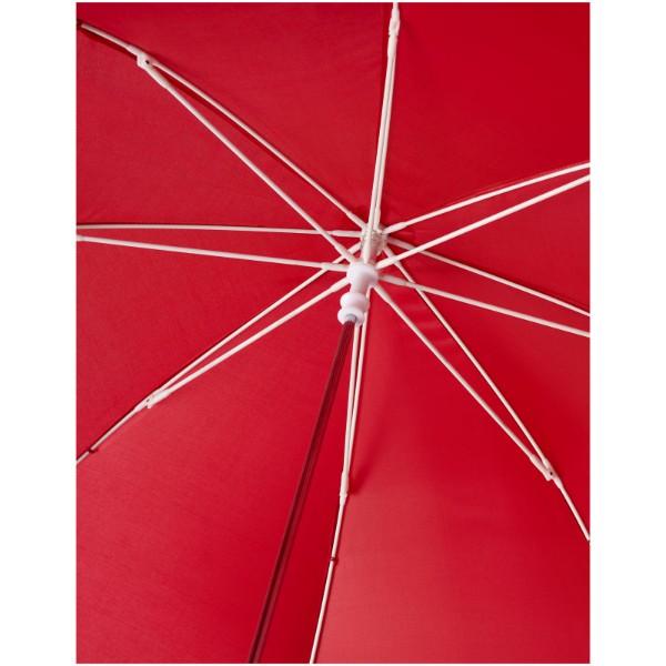 """Větruodolný deštník pro děti Nina 17"""" - Červená s efektem námrazy"""