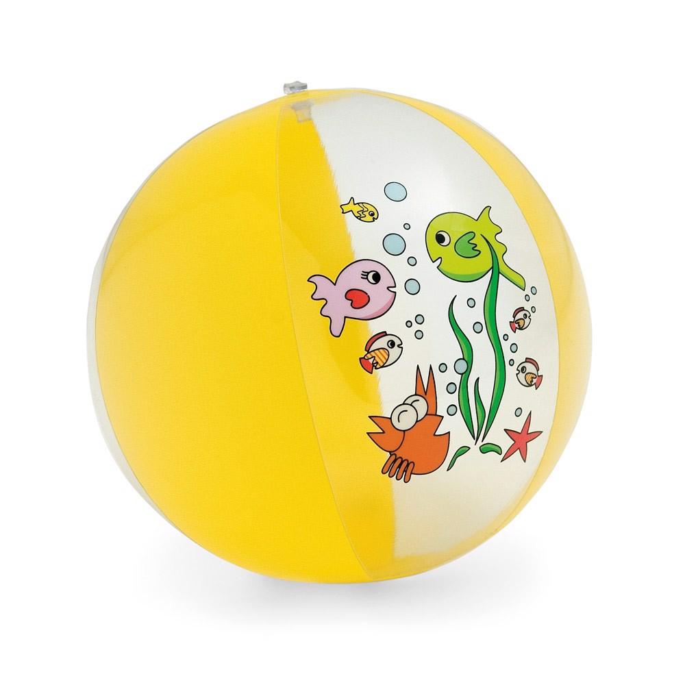 MOOREA. Nafukovací míč - Žlutá