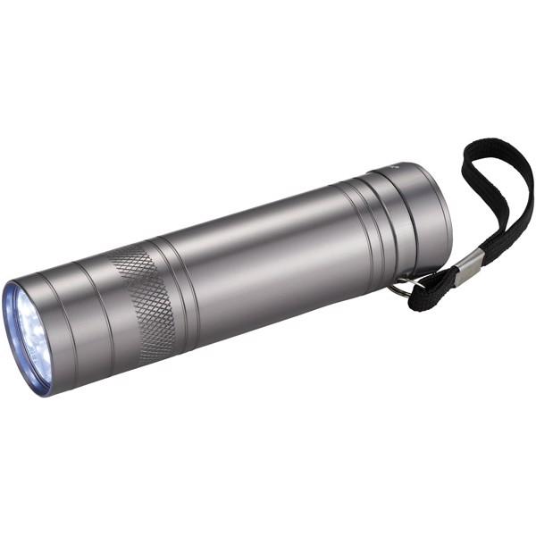 Svítilna Oppy s 9 LED a otvírákem lahví