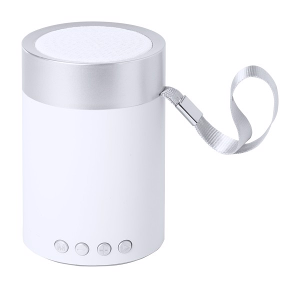 Bluetooth Speaker Garbo - Silver / White