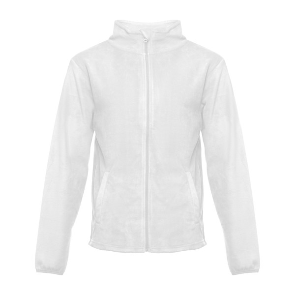 THC HELSINKI WH. Men's polar fleece jacket - White / XXL