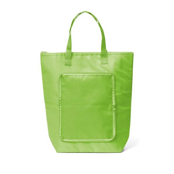 MAYFAIR. Αναδιπλούμενη cooler τσάντα - Λαχανί