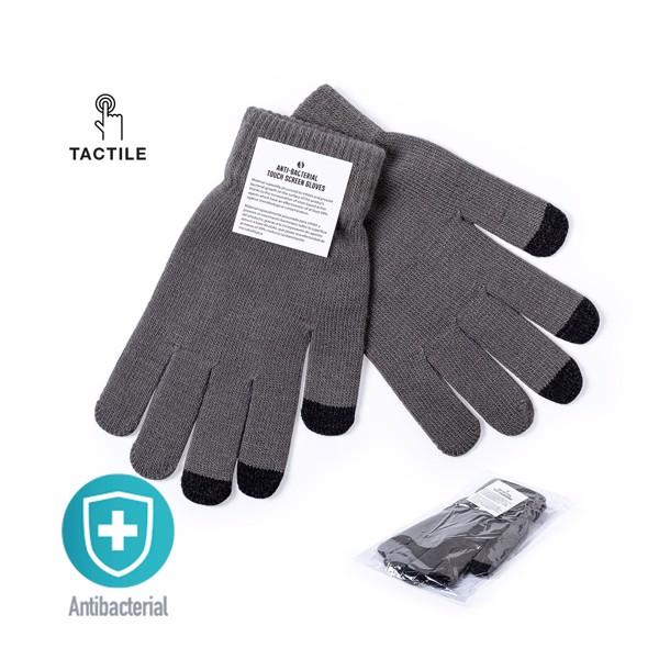 Guante Táctil Antibacteriano Tenex