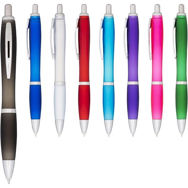 Kuličkové pero Nash s efektem námrazy - Tyrkysová