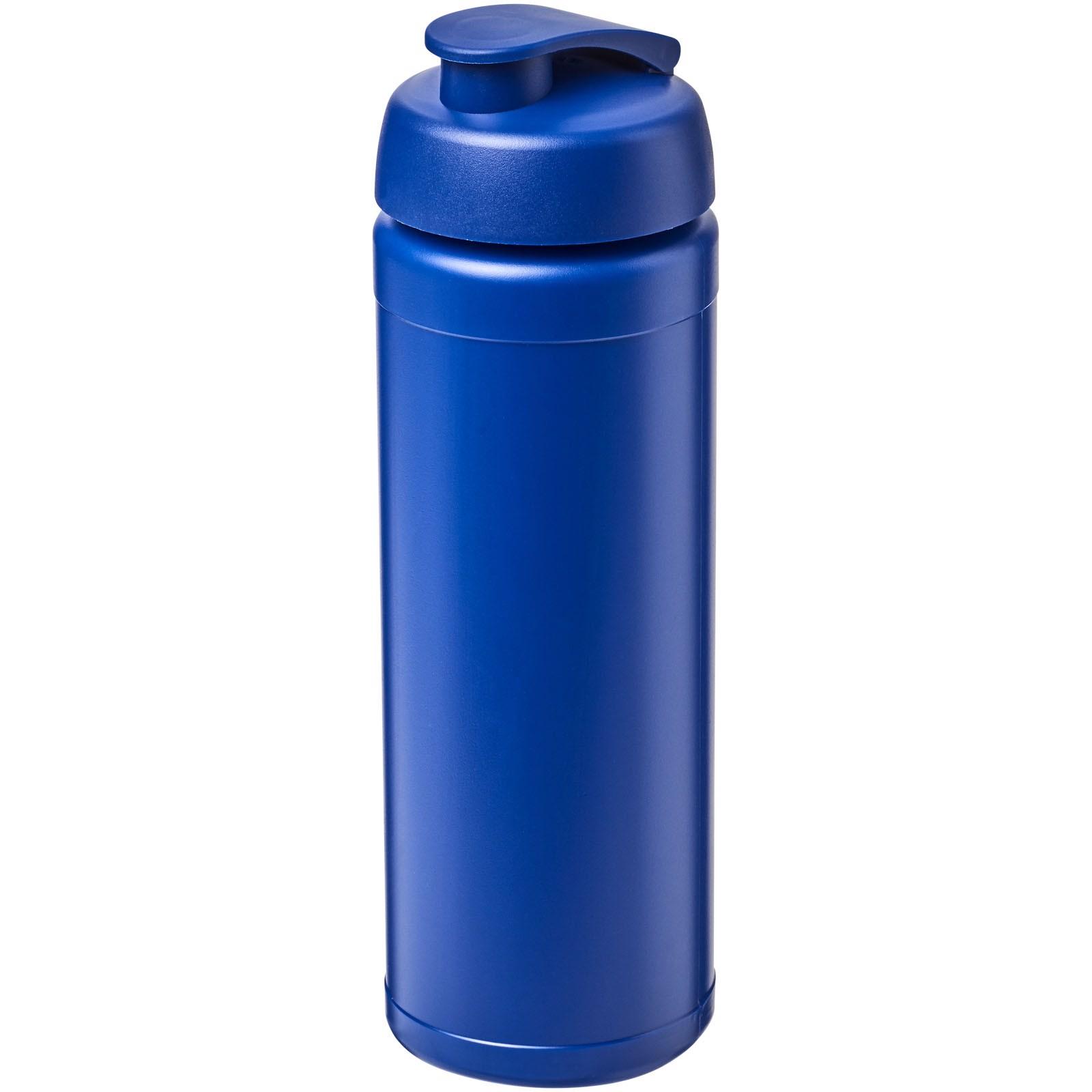 Baseline® Plus 750 ml Flasche mit Klappdeckel - Blau