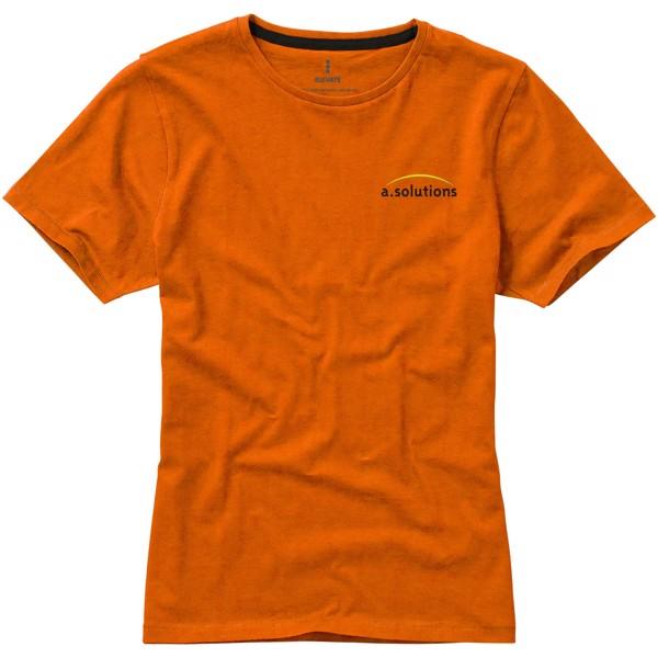 Nanaimo short sleeve women's T-shirt - Orange / M
