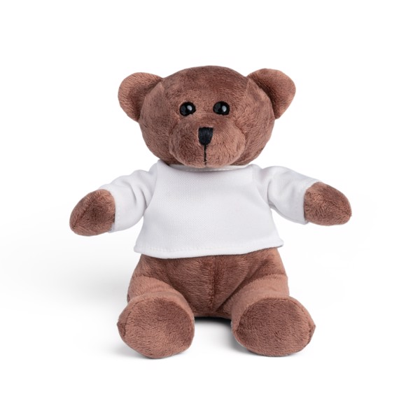 BEAR. Plush toy - White