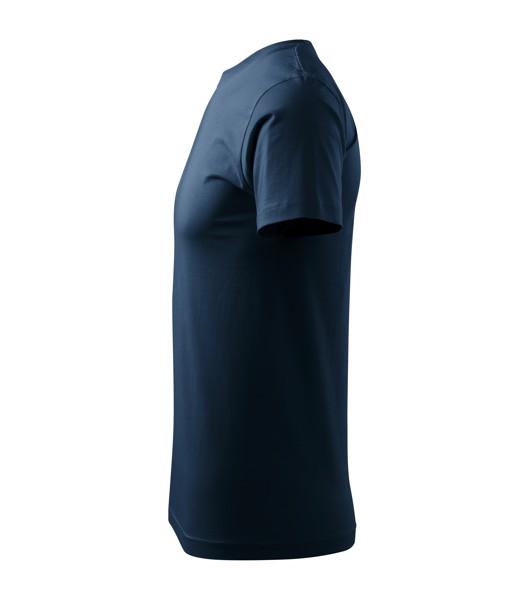 T-shirt unisex Malfini Heavy New - Navy Blue / 4XL