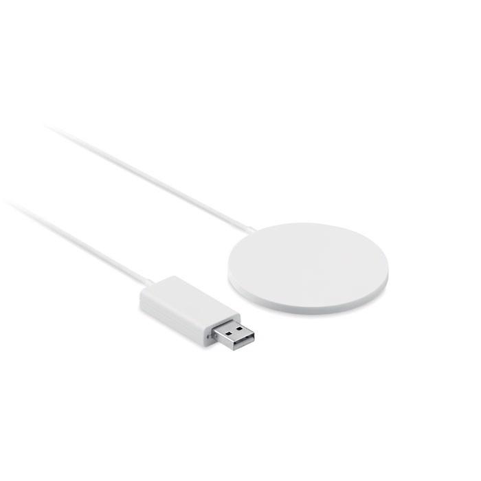Ładowarka bezprzewodowa Thinny Wireless - biały