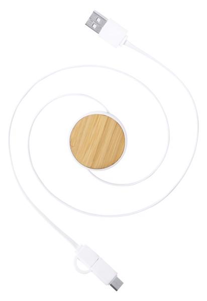 USB polnilni kabel Grets – Beige