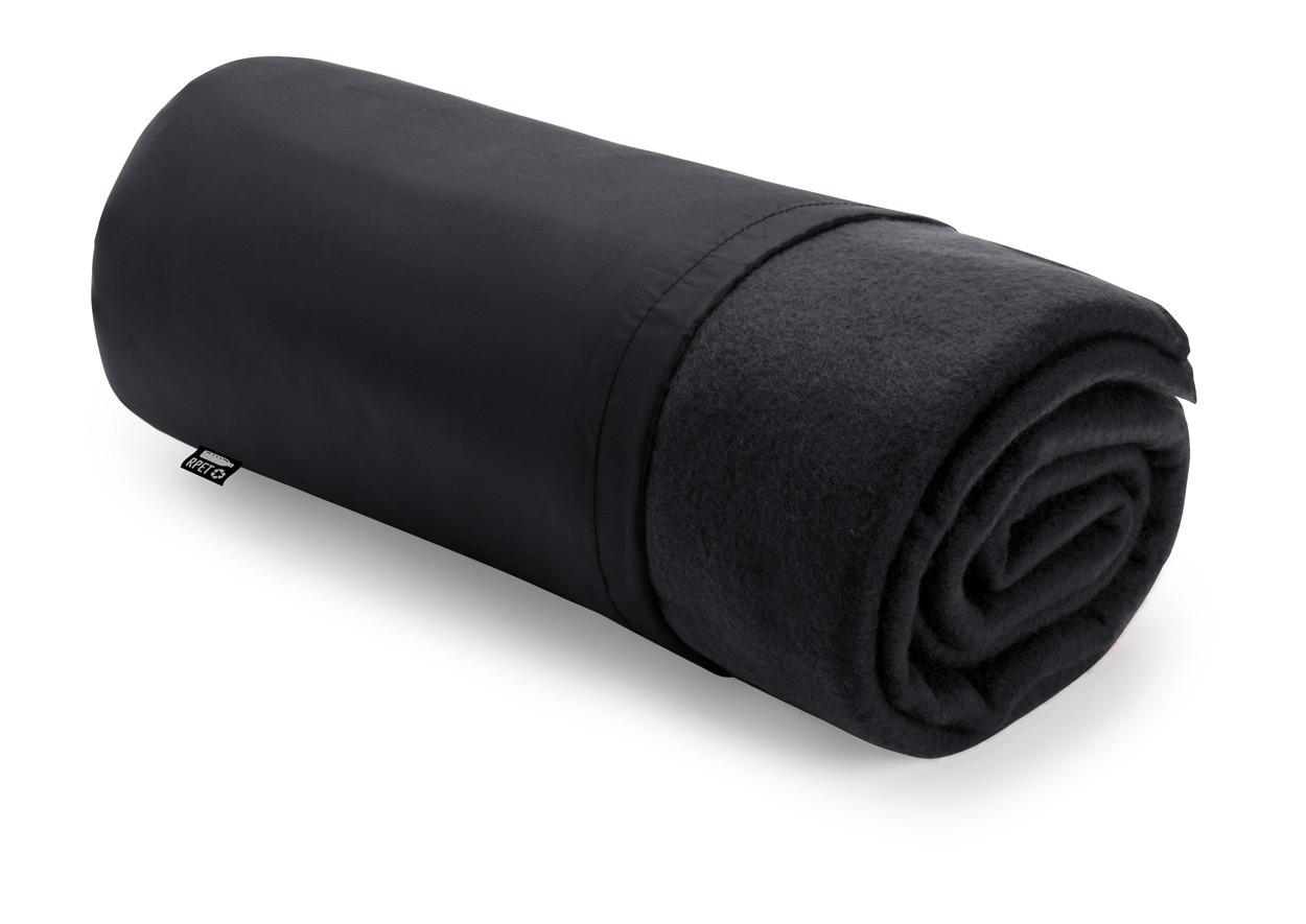 Rpet Polar Blanket Kayla - Black