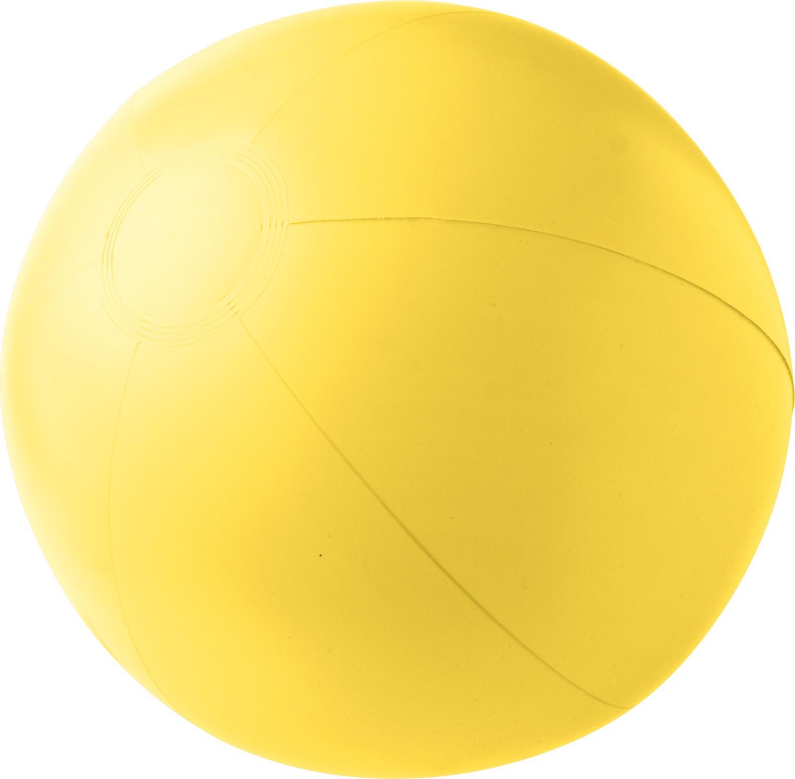 PVC beach ball - Yellow