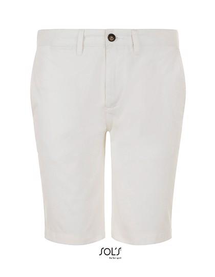 Jasper Men`S Bermuda Short - White / 48