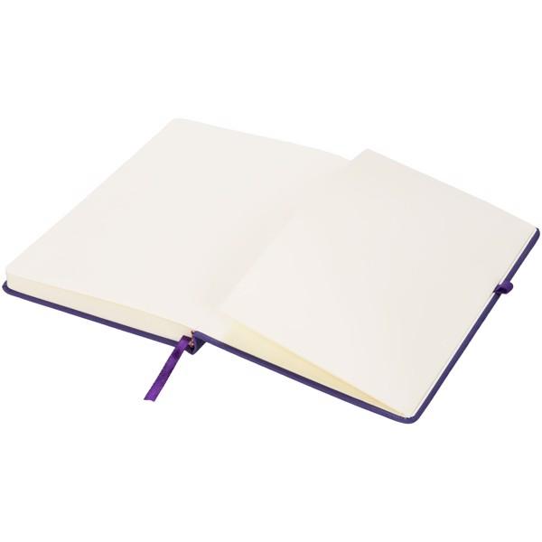Středně velký zápisník Rivista - Purpurová